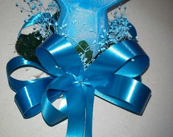 Turquoise Corsage or Wristlet