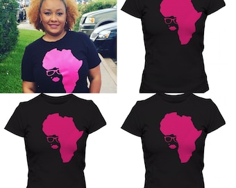 Afro-ca in Pink ...