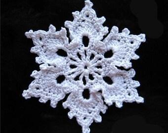 "Crochet pattern ""Snowflake"" 1"