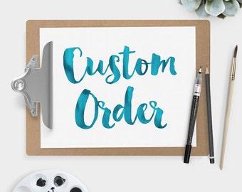 custom order • Danamarie Marro