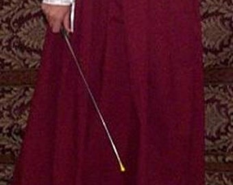 Fencing Skirt -  Button Waistband - Gipsy Peddler SCA Rapier Armor