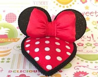 Minnie Mouse Fascinator Hat