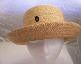 Vintage Emilio Pucci  straw  hat