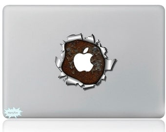 New 3D sticker Macbook decal macbook stickers apple decal mac decal 02