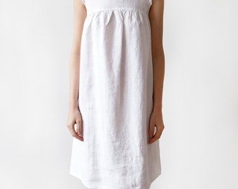 Luxury Linen Womens Nightgown