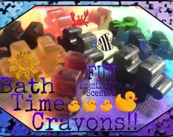 Bath Time Crayons!