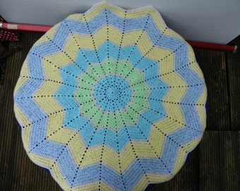 12 Pointed Star Circular Blanket