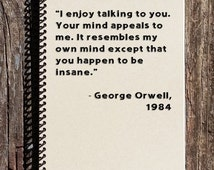 Holiday sale 1984 notebook george orwell 1984 you for Mirror quotes in fahrenheit 451