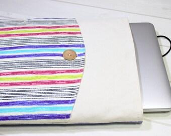 Macbook Pro sleeve, 13 Macbook Air case, 13 inch Macbook case, 13 inch laptop case, rainbow laptop case, Pro Retina case 13, unique gift