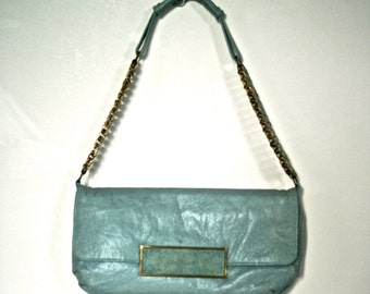 Bag leather and Shagreen Ray & Augousti