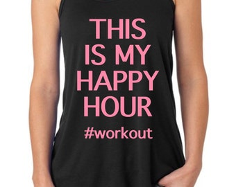 This Is My Happy Hour Tank {Adults}