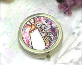 Perfume Locket, Vanilla and Vetiver, Solid Perfume Locket, Handmade Perfume, Artisan Perfume, Essential Oil Perfume, Natural Perfume