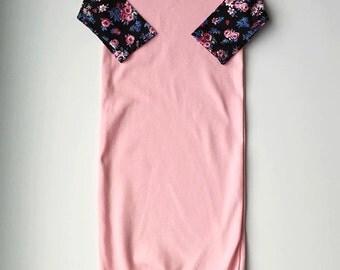 Pink Posie Sleeper