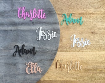 Dollhouse Size Personalised Wall Names/words