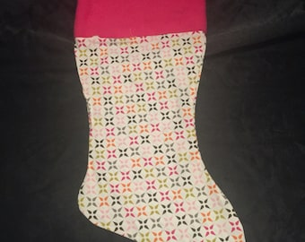 Retro Christmas Stocking