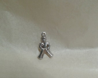Sterling silver sailor charm