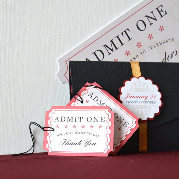 Movie night gift tags adorn favors and treat bags with