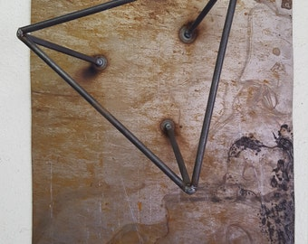 Tipped Triangle Wall Art