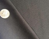Black Textured - heavyweight Poly Spandex Knit - By the yard