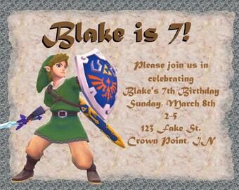 Zelda/Link Invitation
