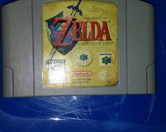 Legend of Zelda Ocarina of Time Nintendo 64