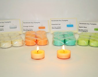 Soy Tealights 36 for 16.00