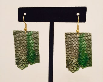 Color Study Earrings #7