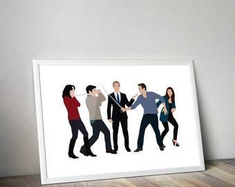 How I Met Your Mother Minimal Style