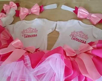 Twincess tutu set ( 2 sets included in price)