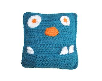 Crochet Monster Tooth Fairy Pillow