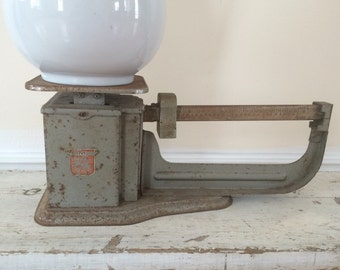 "Antique POSTAL SCALE~Perfectly Vintage & INDUSTRIAL Look For Home Decor, Kitchen, Office~""Triner Airmail Scale"""
