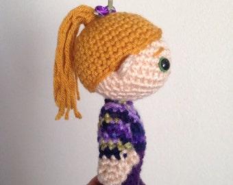 Little amigurumi doll