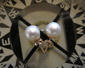 South Sea White Pearls 9mm