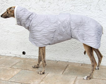 Greyhound coat, greyhound clothing, greyhound winter coat,