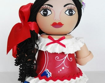 Typical large doll