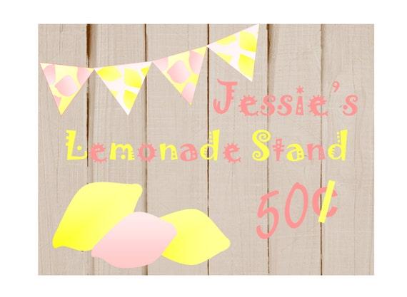 lemonade stand sign vintage lemonade signs summer party lemonade