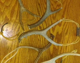 Real antler sling shots