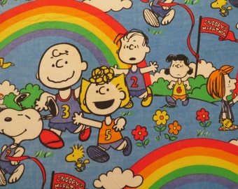Vintage Peanuts Twin coverlet
