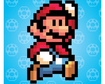 Nintendo Super Mario Brothers Super Mario Poster