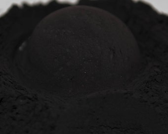 Midnight, Black Eyeshadow, Mineral Eyeshadow, 10 gram jar