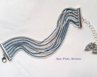 Multirang strap, micro-bead chain diamond 2