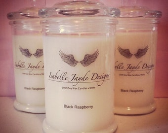 Natural Soy Wax Candle in Classic Jar.
