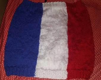 Cache neck flag france adult one size