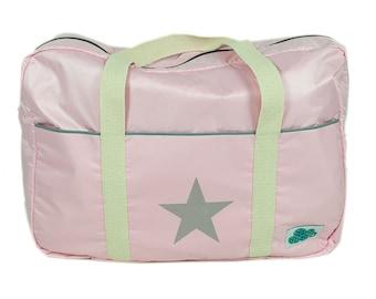 Nursery & Carry Bag Pink Star