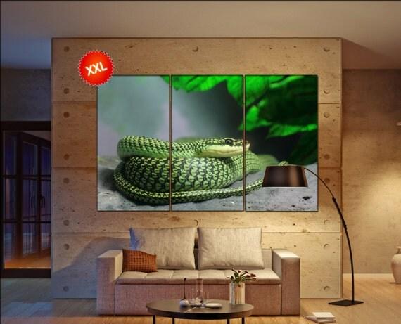 Tree Snake  canvas wall art Tree Snake wall decoration Tree Snake canvas wall art art Tree Snake large canvas wall art  wall decor