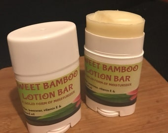 Sweet Bamboo Lotion Bar