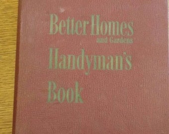 Vintage Better Homes & Gardens Handyman's Book, FIRST edition 1951