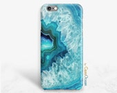 Blue Stone phone case, iPhone SE, 6 6s 6s+ 6Plus case iPhone SE 5 5s 5c 4 blue agate stone, Samsung Galaxy S7 S6 S5 S4 blue stone phone case