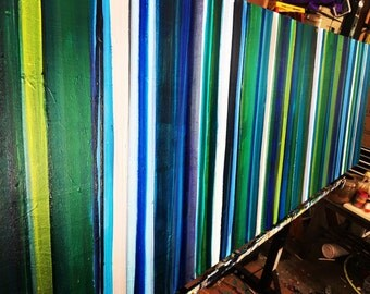 2- 24x36 Serape for Days I & II