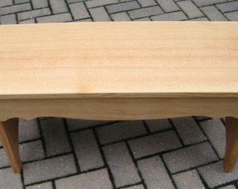 "36"" Wooden Bench - Quarter Sawn Fir"